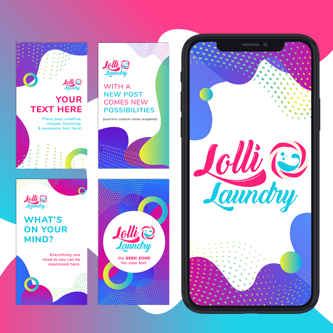 Copy of DY-Lolli Laundry Social Media Template