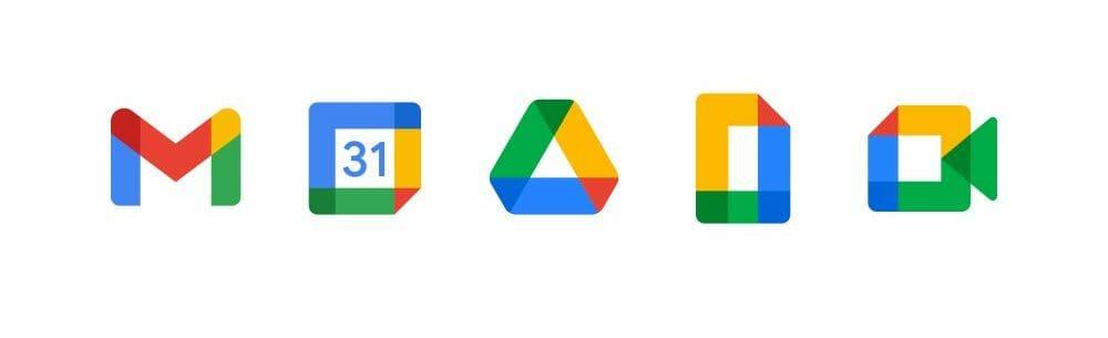 Google New Logos 2020