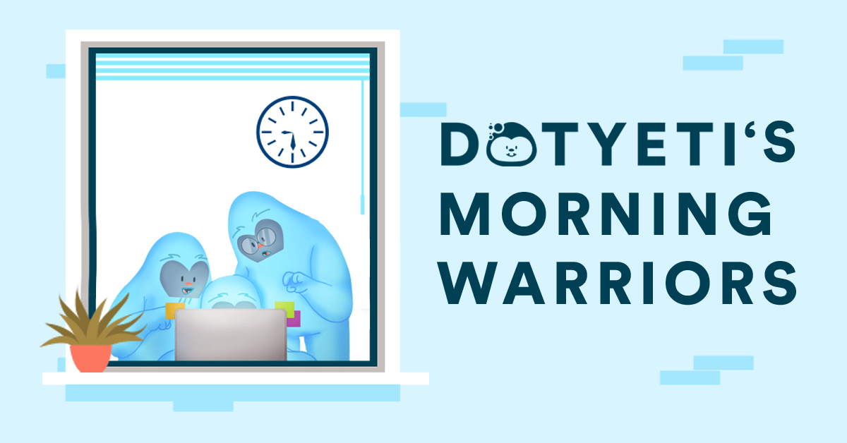 Designer Spotlight: The Yeti Blue Morning Warriors