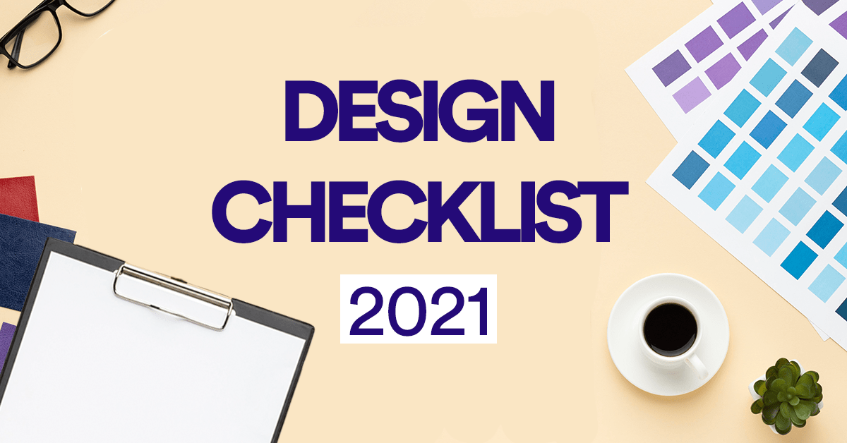 The Creative Yeti's 2021 Design Checklist to Start the Year Right