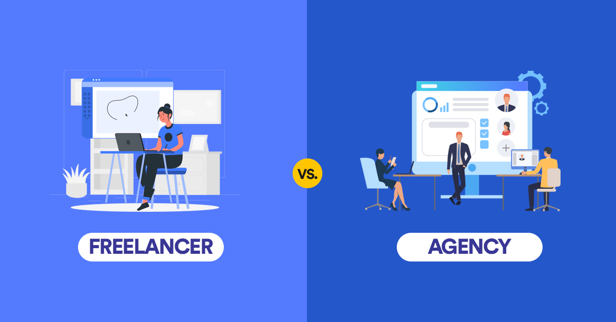 Freelancer vs Agency: Pros, Cons, and Alternatives for Your Design Work